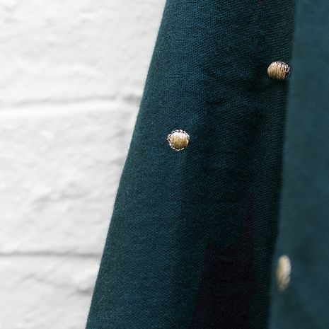 Tissu double gaze Stardust Forest - Atelier Brunette