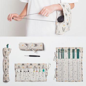 Patron de rangement tricot et crochet - Katia Fabrics A6