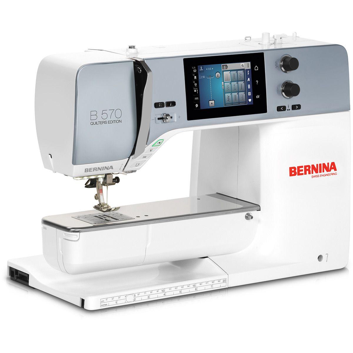 Machine à coudre et à broder Bernina 570 QE