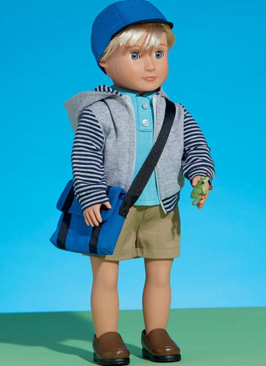 Patron de vêtements pour poupée de 46 cm