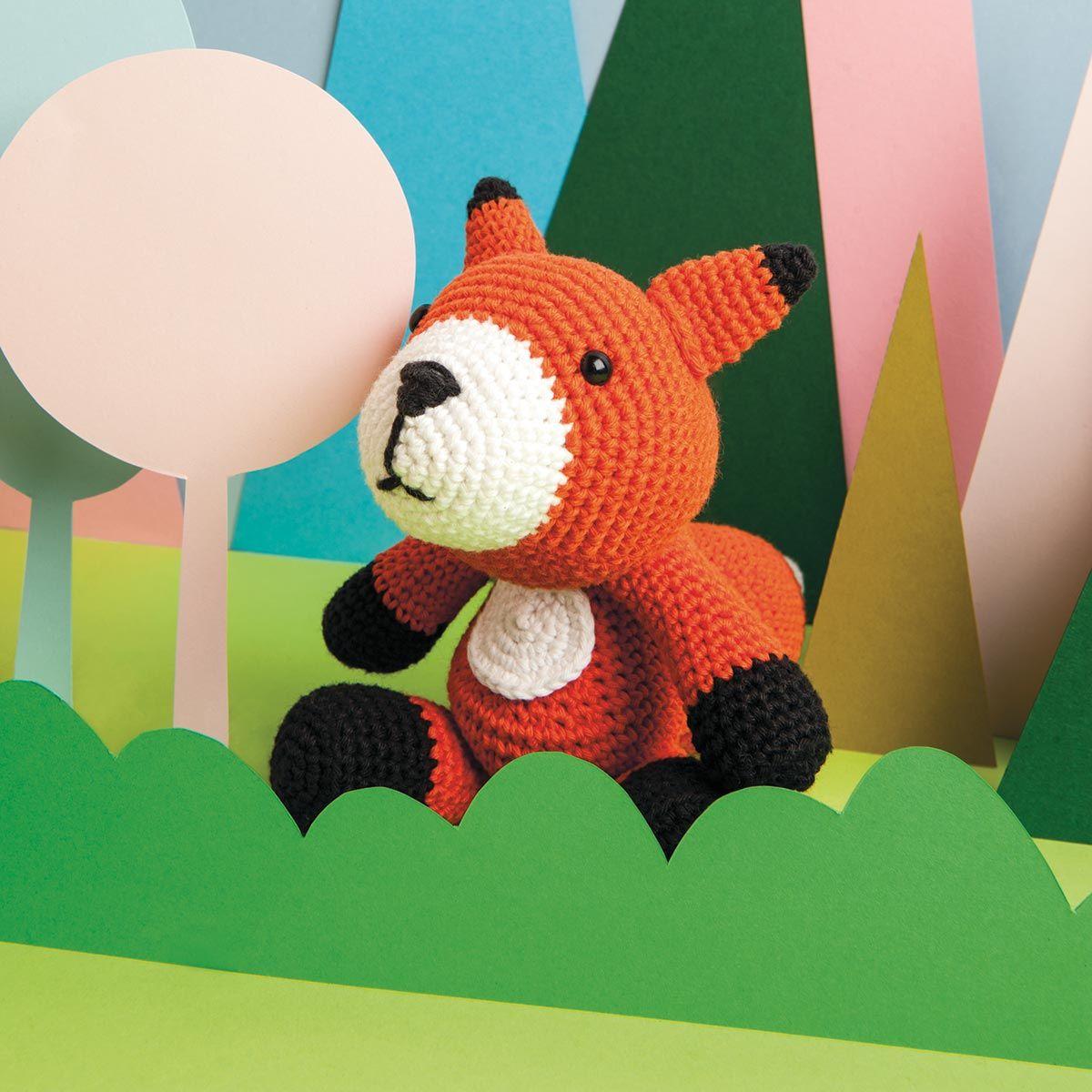 Kit crochet amigurumi - Renard
