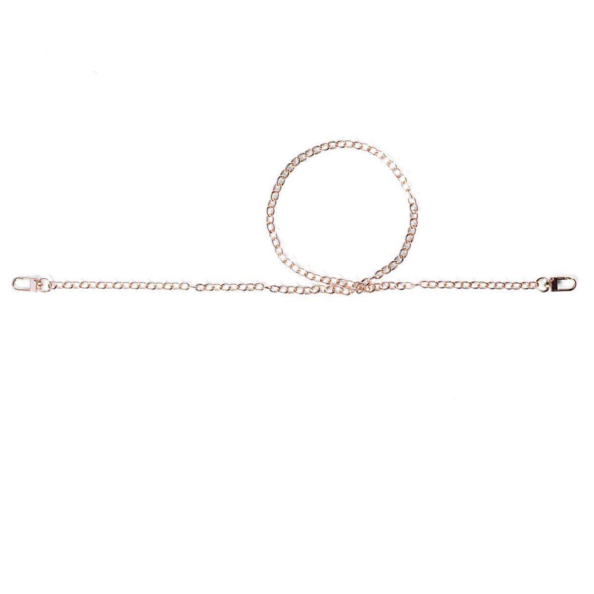 Chaine pour sac à main Rosali 88 cm - Or rose
