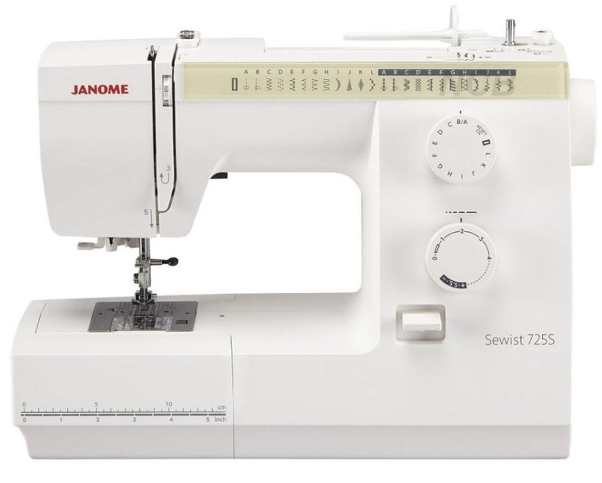 Machine à coudre Janome Sewist 725S