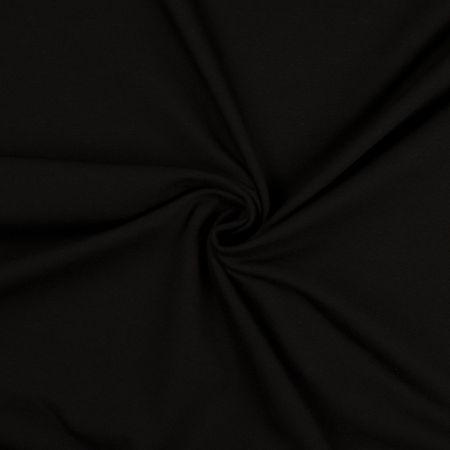 Tissu jersey coton - Noir