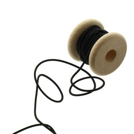 Cordon élastique 2,30 mm - Noir