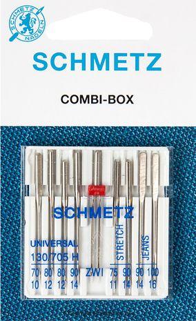 Aiguilles assortiment Combibox Schmetz