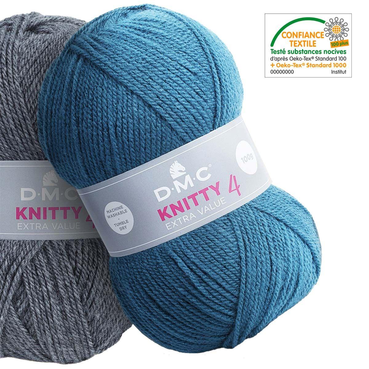 Fil à tricoter Knitty 4 DMC