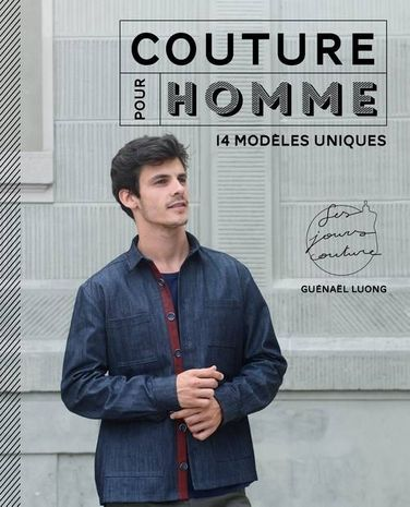 Livre couture pour homme 14 modèles uniques