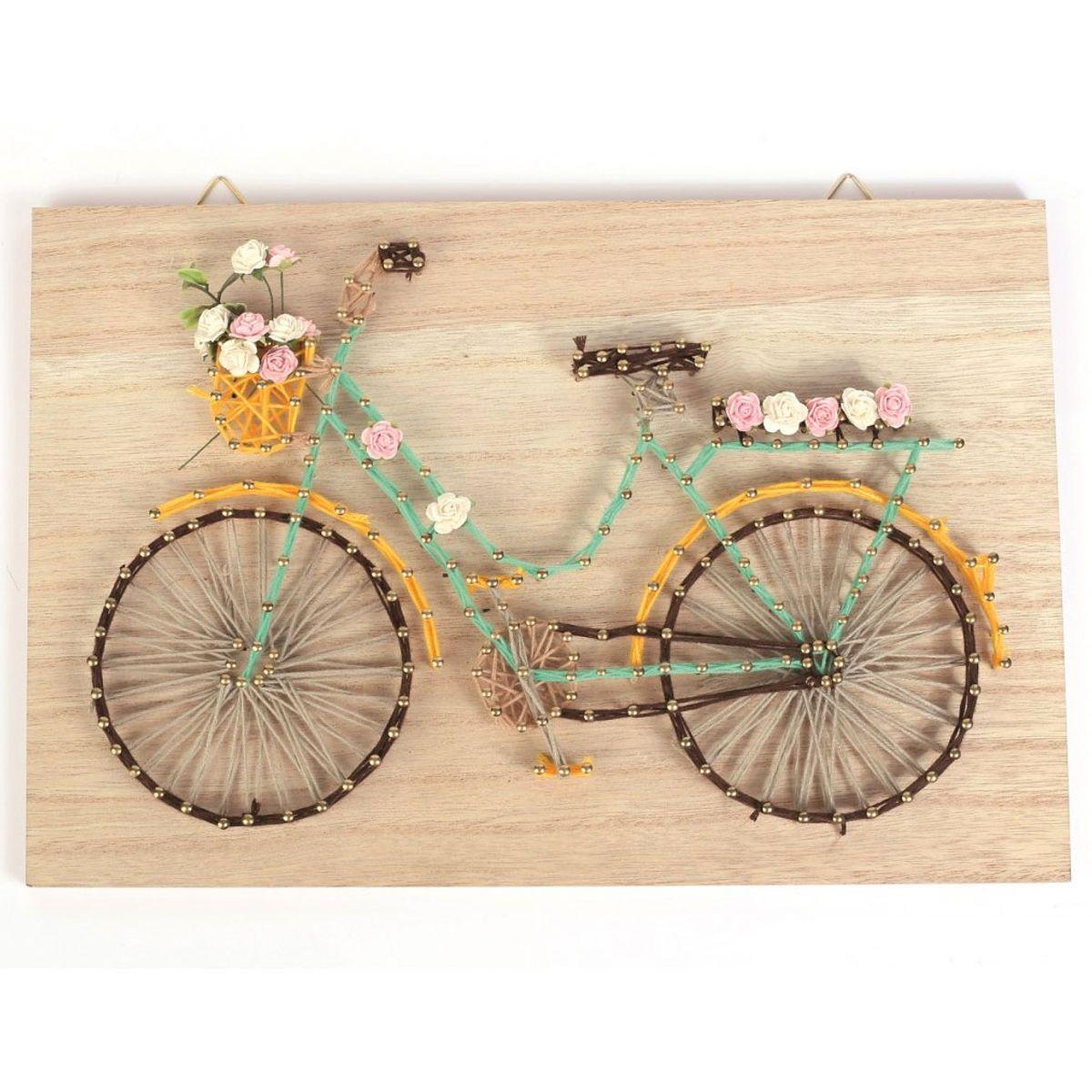 Kit string art - Vélo