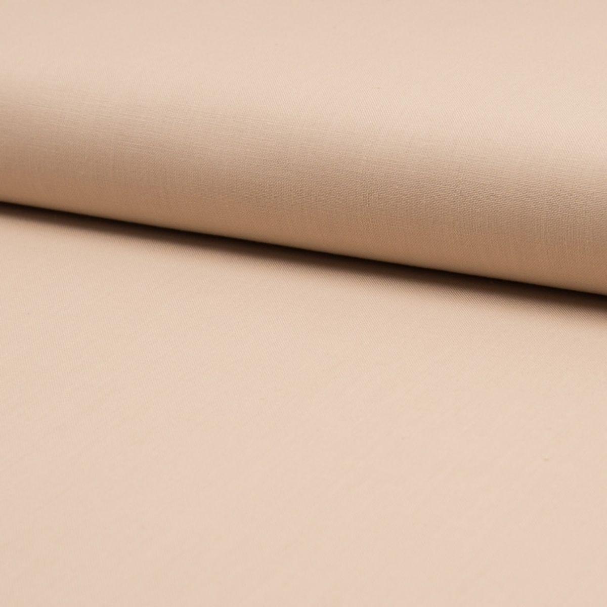 Tissu coton uni - Blush