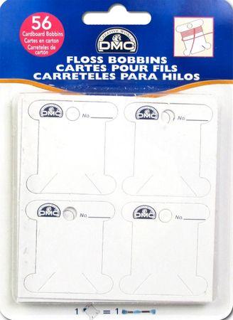 Cartonnettes pour fils à broder DMC
