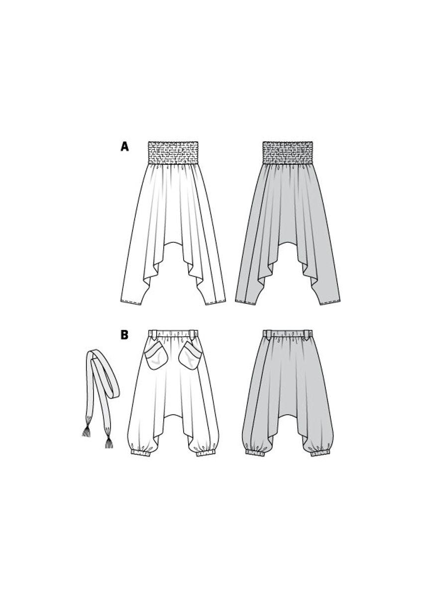 Patron de pantalon - Burda 6316