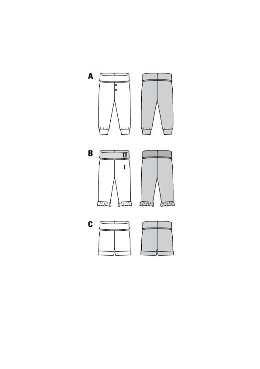 Patron de pantalon - Burda 9317