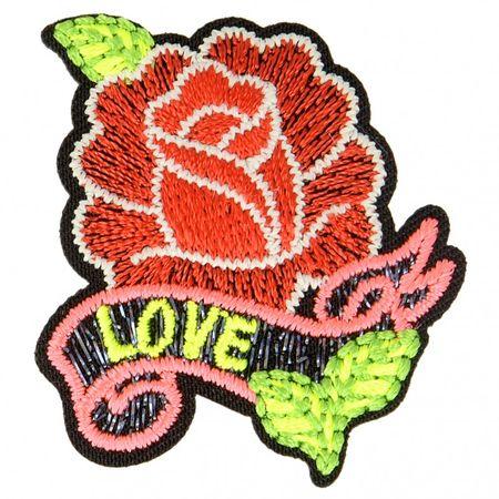 Motif rock - Rose
