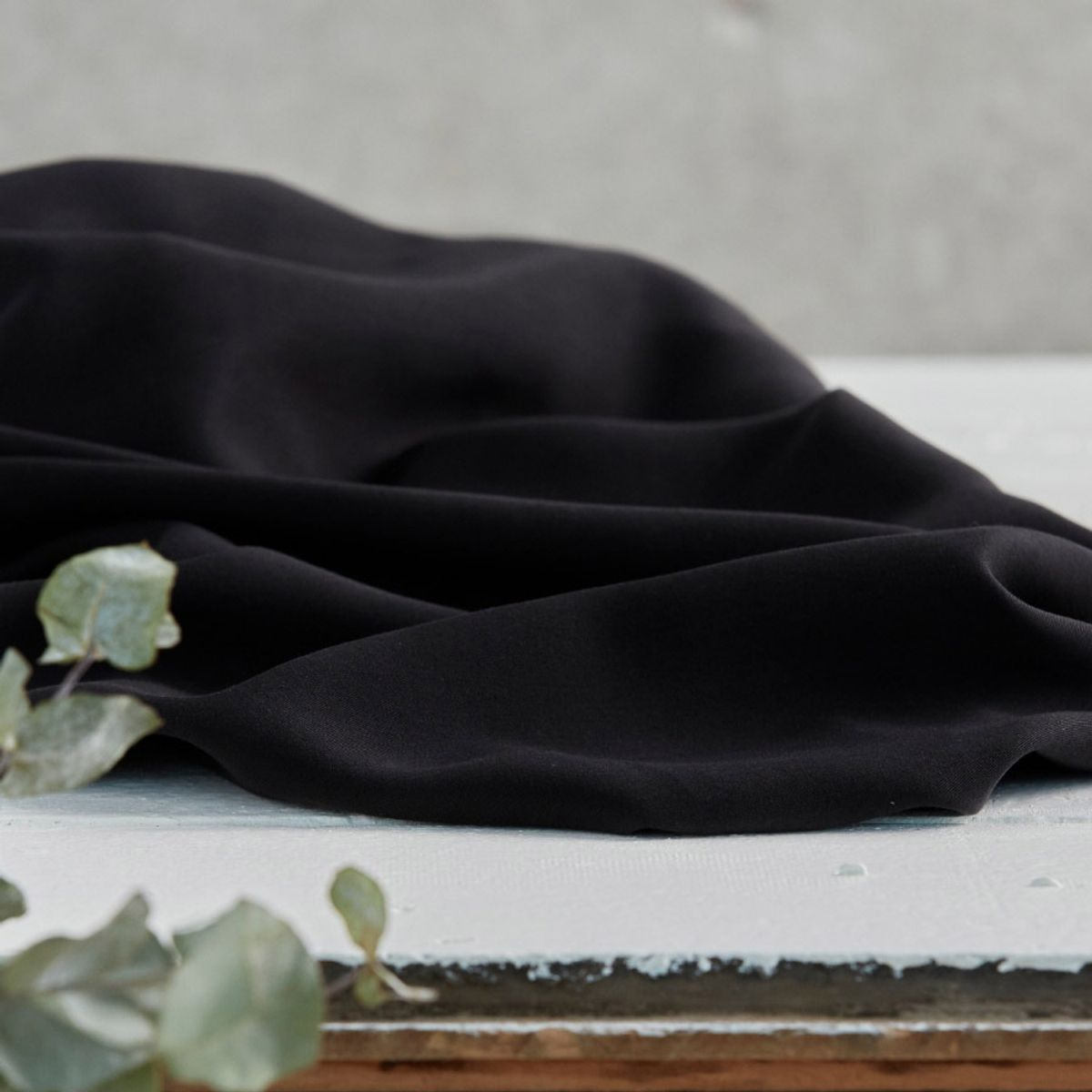Tissu tencel - Noir