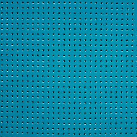 Vinyle laqué perforé - Bleu pétrole