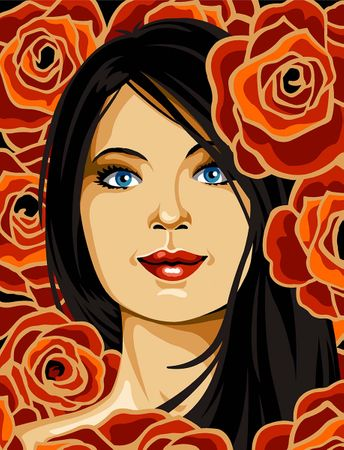 Kit canevas pénélope Margot de Paris - Belle de rose