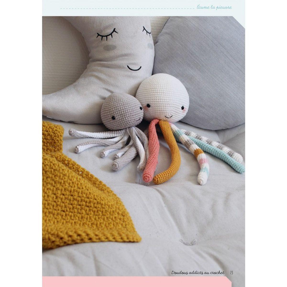 Livre doudous addicts au crochet